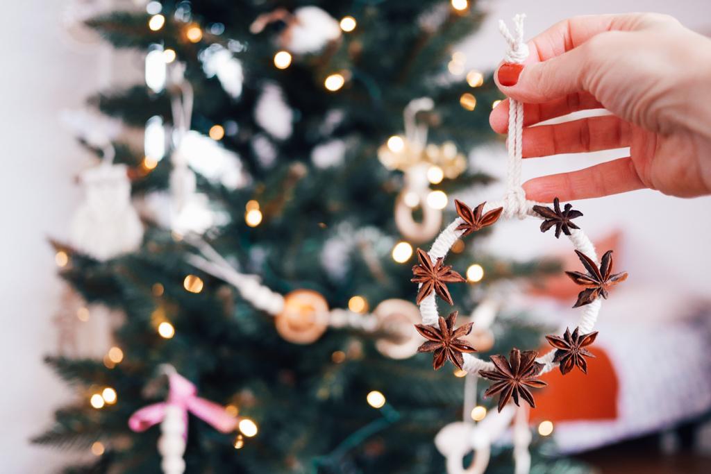 Couronne de Noël,DIY