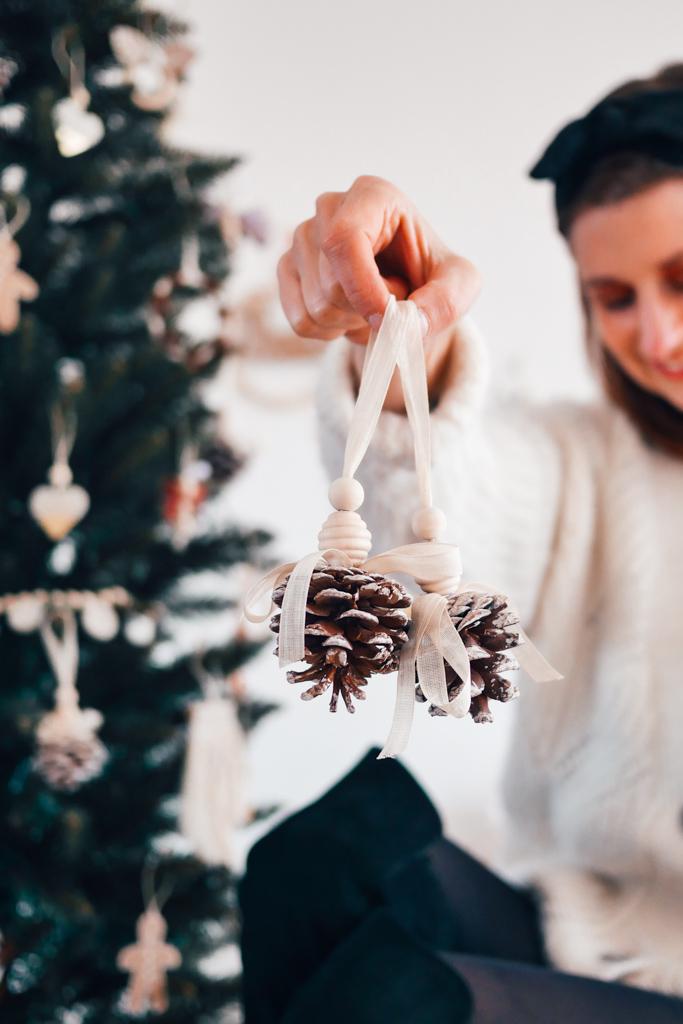 Pommes de pin,Noël,DIY