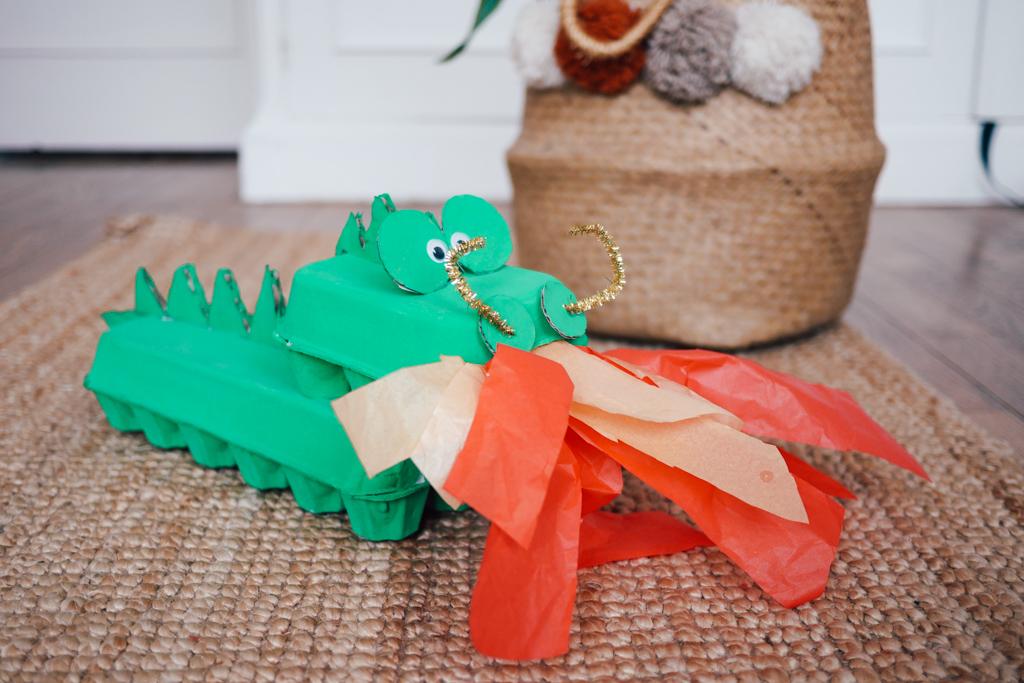 diy dragon carton nouvel an chinois 6