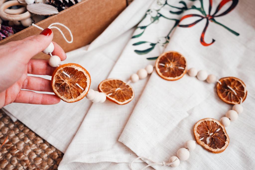 Noël,DIY,Oranges séchées